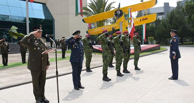 Nombran a Gerardo Vega Rivera comandante de la Fuerza Aérea Mexicana