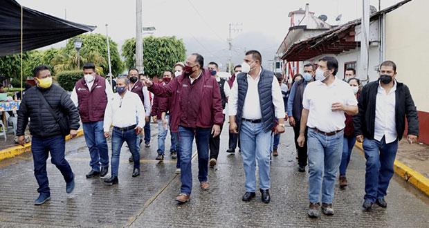 Continúan trabajos de rehabilitación por lluvias en Puebla: Segob