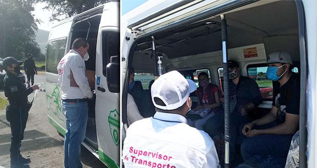 Infracciona SMT a 268 unidades del transporte público por sobrecupo