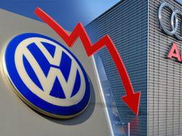 Durante agosto, Volkswagen y Audi hilan otro mes de caída en ventas