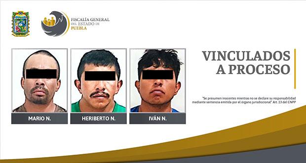 3 hombres van a prisión por tentativo de homicidio en Cañado Morelos