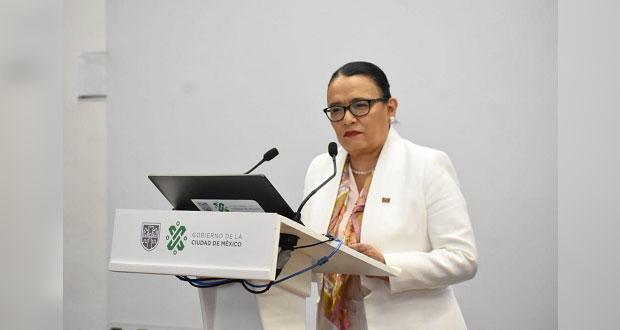 AMLO propone a Rosa Icela Rodríguez como titular de la SSPC