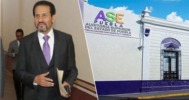 ASE denuncia a Alfonso Esparza ante FGE por irregularidades en su gestión