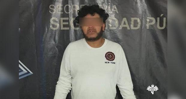 """Capturan a cuñado de """"El Loco"""" Téllez en San Martín Texmelucan"""
