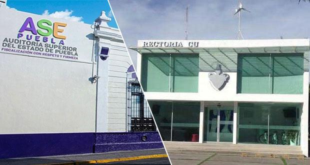 Contratación de Deghosa como auditor externo de BUAP es ilegal: ASE