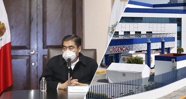 Desconversión de hospitales Covid, hasta semáforo verde: Barbosa