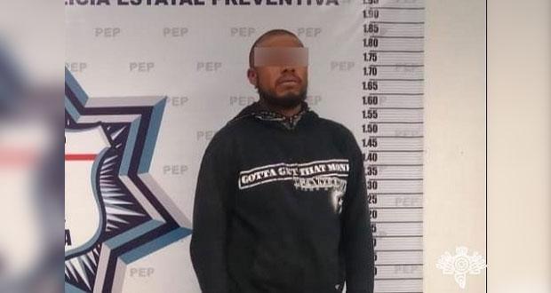 """Detiene en Puebla capital a """"La Romana"""", presunto narcotraficante"""