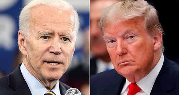 Biden, a 6 votos de ganar presidencia de EU; Trump quiere impugnar