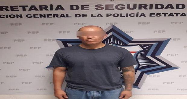 """SSP recaptura a """"El Azteca"""", presunto líder criminal de Tehuacán"""