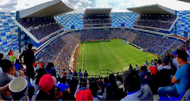 El Puebla jugará con aforo reducido y sana distancia el 23 de octubre: Barbosa