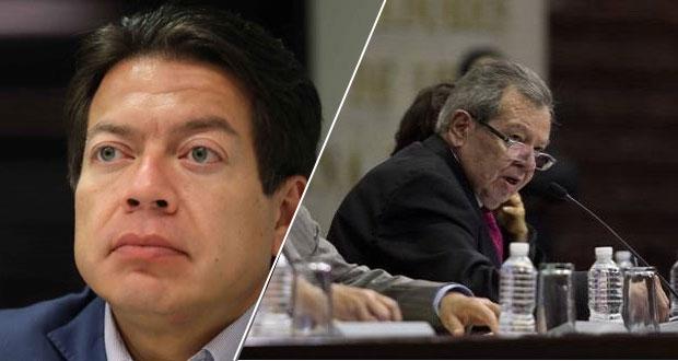 En encuesta de Morena, Mario Delgado aventaja a Muñoz Ledo: Enkoll