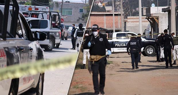 En pocas horas, hallan 5 cadáveres encobijados en Puebla y Cuautlancingo