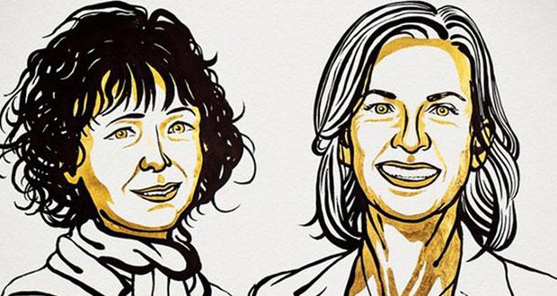 Ganan el Nobel de Química dos mujeres por investigaciones genéticas