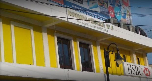 Gobierno revoca notaría 5 de Ciudad Serdán; suman 19 y 7 están en juicio