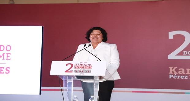 Karina Pérez no descarta reelegirse en San Andrés Cholula en 2021