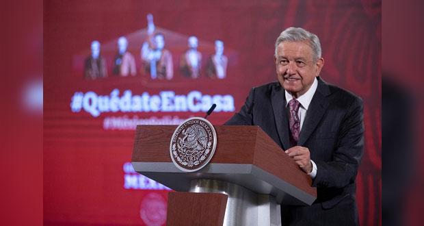 Plantea AMLO que INE use voluntarios para consulta de expresidentes