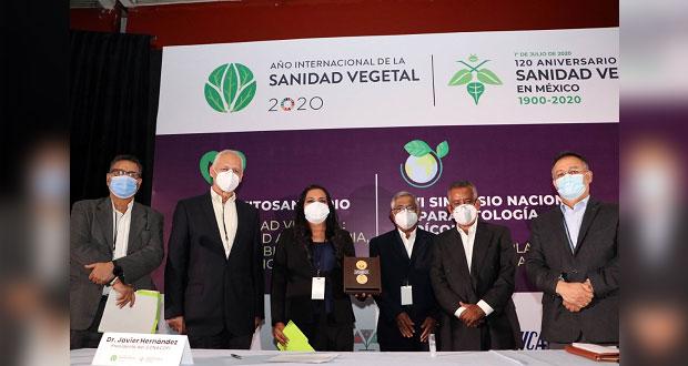 Recibe titular de SDR Premio Nacional en Parasitología Agrícola