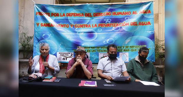 Revocarán concesión de agua si Comuna entrega contrato, aseguran