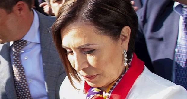 Rosario Robles rechaza colaborar con FGR; se queda en prisión
