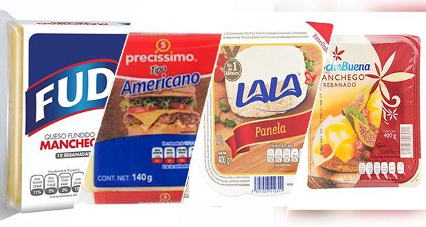 Ten cuidado, no compres estos marcas de quesos