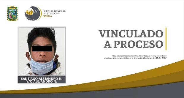 Vinculan a proceso a sujeto por violación de menor en Puebla capital