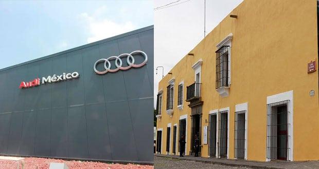 Audi, dispuesta a auditoría tras reunión con gobierno y municipio