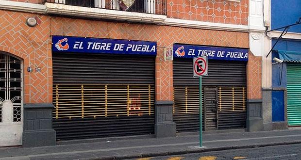 """Cierra """"El Tigre de Puebla"""" en medio de la pandemia del Covid-19"""