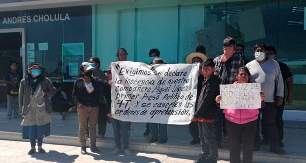 """Por """"capricho"""" de MP, dan plazo para pruebas contra defensor del Metlapanapa"""