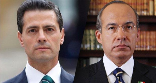 EPN y Calderón pueden ser investigados por corrupción: Nieto