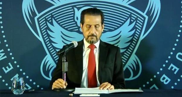 Informe de Esparza, ajeno a denuncias de acoso en BUAP; presume resultados
