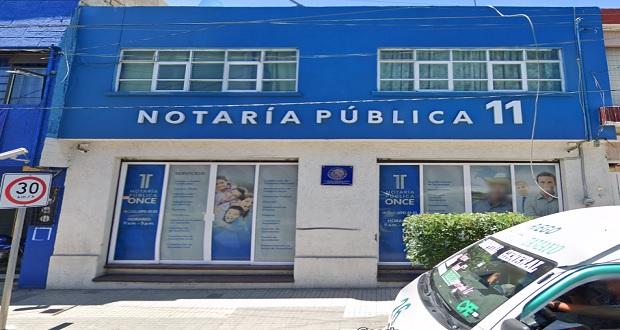 Gobierno revoca patente a notaría 11 de Tehuacán, suman 18 y hay una pendiente
