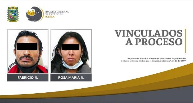 Madre y padrastro de menores van a prisión por abuso en Puebla