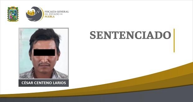 Sentencia de 20 años de prisión contra responsable de homicidio