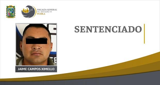 Dan 20 de prisión a sujeto por asesinato en Atlixco en 2019