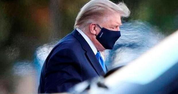 Trump anuncia su salida del hospital tras estar internado por Covid