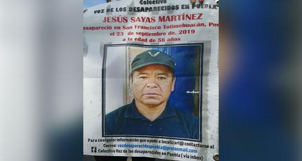 A sus 56 años, Jesús Zayas desapareció mientras trabajaba como velador