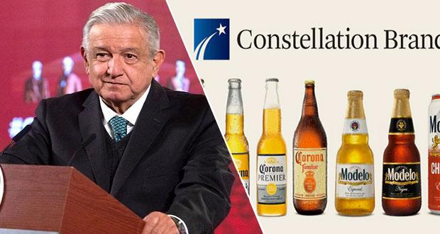 """AMLO reitera """"no"""" a cervecera en Mexicali; va por ley de estímulos fiscales"""