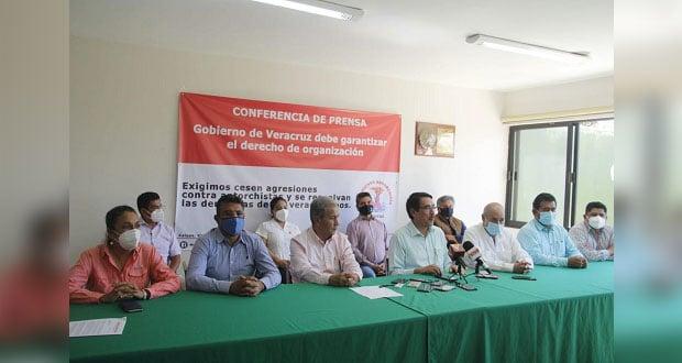 Antorchistas de Puebla piden resolver demandas en Veracruz