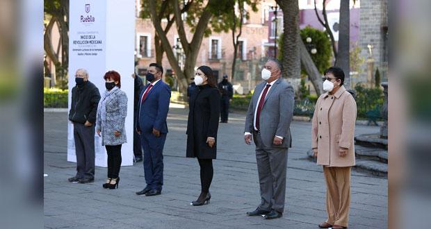 Ayuntamiento conmemora 110 aniversario luctuoso de hermanos Serdán