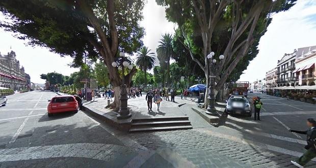 Circulación vial en el centro de Puebla, reabierta al 100%: Segom