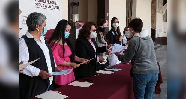 DIF estatal y OXXO facilitan mastografías para 100 poblanas
