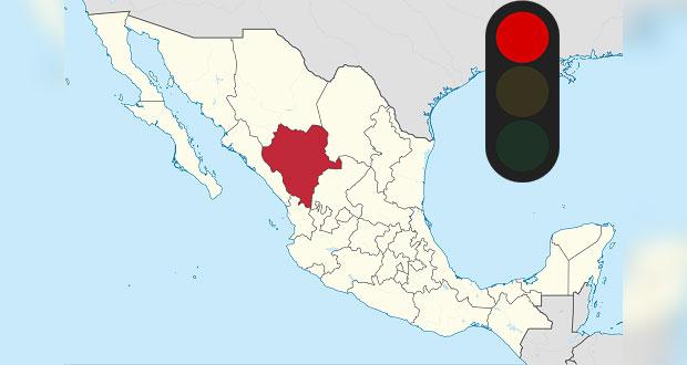 Durango también vuelve a semáforo rojo por Covid; es 2° estado