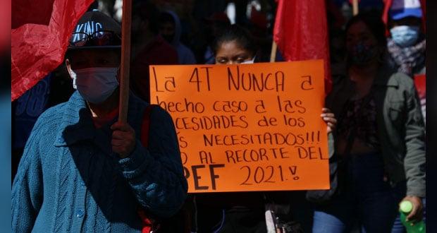 En Puebla, Antorcha pide voto de castigo para Morena en 2021