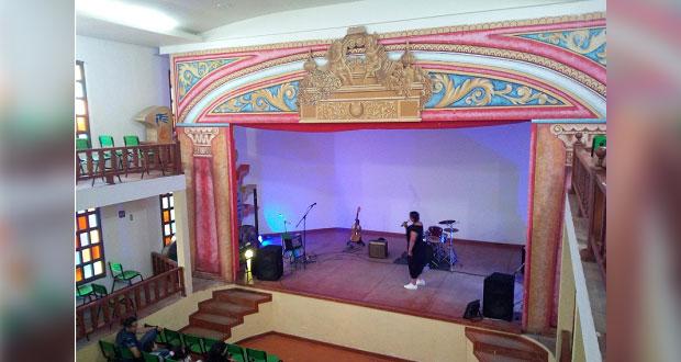 Exhortan a ayuntamiento de Atlixco a restaurar teatro dañado en 19-S