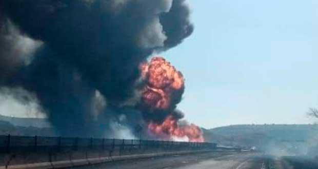 Pipa choca y estalla en la Tepic-Guadalajara; van 13 fallecidos
