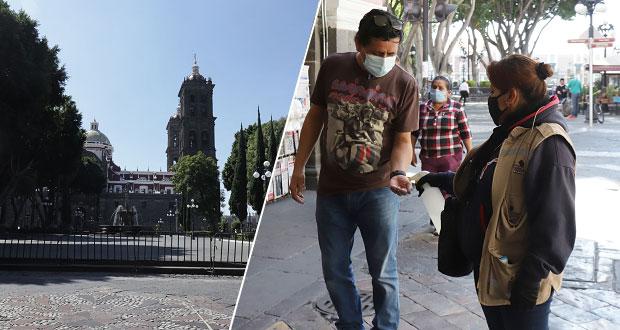 Inicia El Buen Fin en CH de Puebla con cierre de calles y baja afluencia