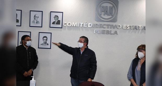 Nombran al diputado Raúl Espinosa delegado del PAN en Libres