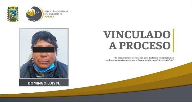 Prisión preventiva, contra padrastro señalado de violación