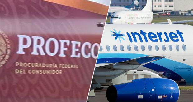Profeco alertará para no comprar boletos de vuelo de Interjet