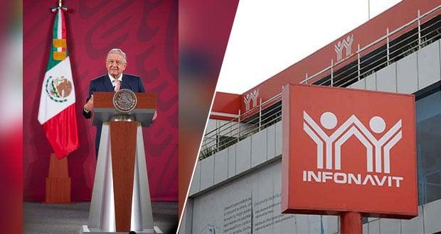 Reforma al Infonavit dará libertad para comprar terreno y construir: AMLO